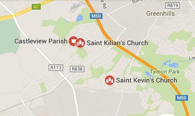 Google Maps Parish Image