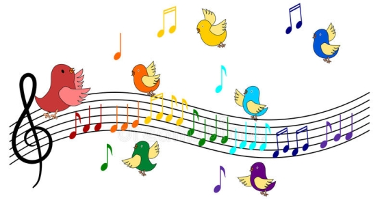 rainbow-vector-birds-singing-colors-45446178